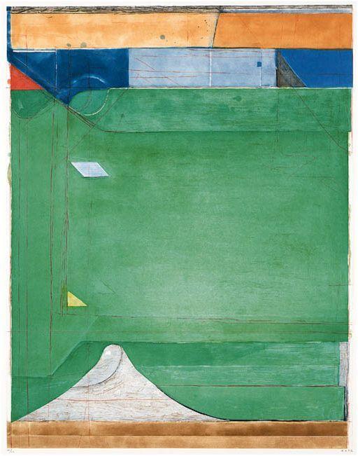 Bonhams Sale of Richard Diebenkorn Print Leaves Market Green With Envy - artmarketblog.com