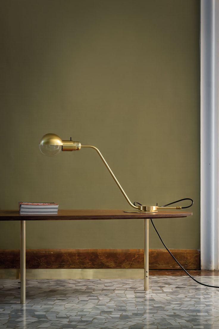 Restart Milano Gold Table Lamp