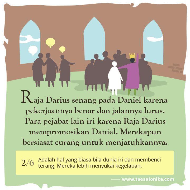 Kisah Daniel — Gambar II dari 6. #CeritaAlkitab #KisahNabi #PerjanjianLama