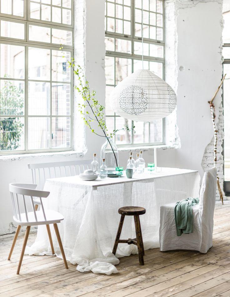 DIY tafellinnen | DIY table linen | vtwonen 09-2016 | photography: Sjoerd Eickmans | styling: Moniek Visser