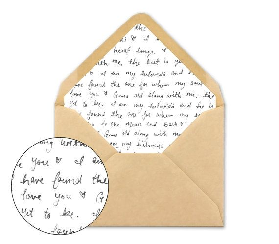 Best  Envelope Liners Ideas On   Diy Envelope Liners