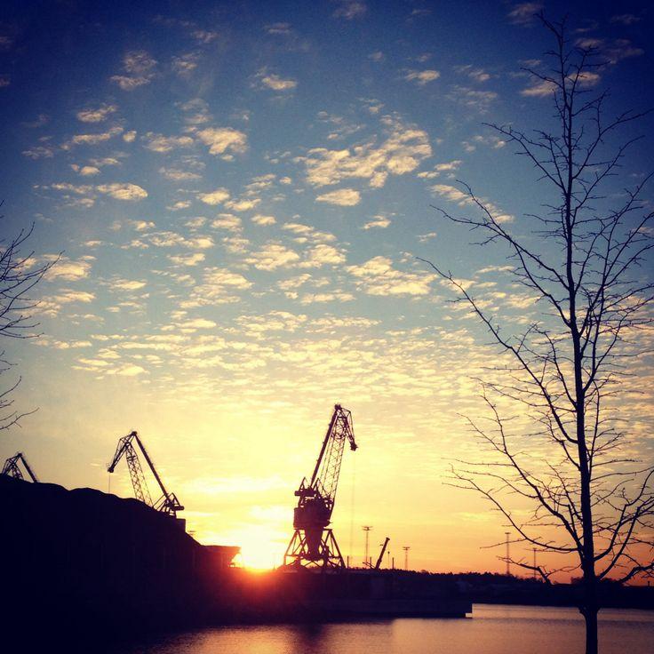 Merihaka. #Sunrise. #Kallio #Helsinki #Finland