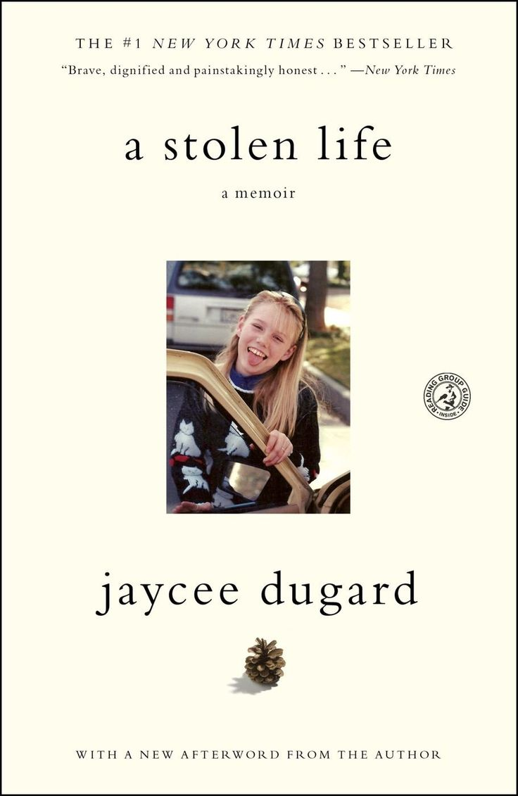 A Stolen Life by Jaycee Dugard:  kidnapped and held for 18 years, a true story told in her own words by a remarkable woman who takes her life back for her and her daughters. You will be moved and inspired by her story.