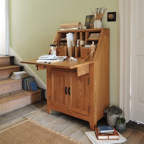 Oakland Writing Bureau from The Cotswold Company Oak Bureau, Country Furniture, Country Office Furniture, Country Living, Country Style Country Homes, Office Storage