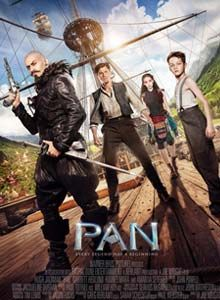 Pan is British-American fantasy film directed by Joe Wright. It stars Hugh Jackman, Garrett Hedlund, Rooney Mara, Amanda Seyfried, and Levi Miller as the titular character. It is an origin story of Peter Pan and Captain Hook. Release Date : 9th Oct 2015 Language : English Genre : Fantasy