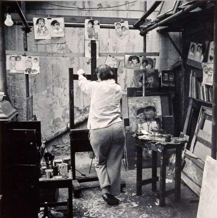 Joan Eardley – Her Pastels Of Glasgow Tenement Kids