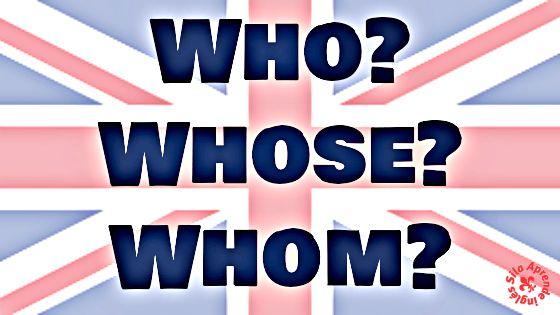 En este post vamos a analizar el uso y diferencias entre tres pronombres interrogativos que nos suelen liar un poquillo: WHO, WHOSE y WHOM.