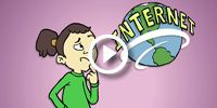 This website has TONS of internet safety videos for ALL ages, and I think its so important to teach kids what to do when they come across bad content on the internet :)