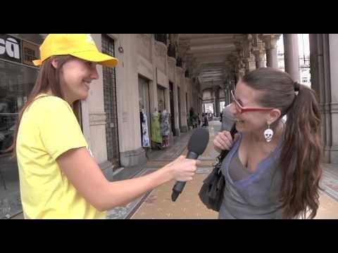 Le vostre pillole di saggezza al nostro microfono. Primo giorno a Torino! #Mondosnello #Snello