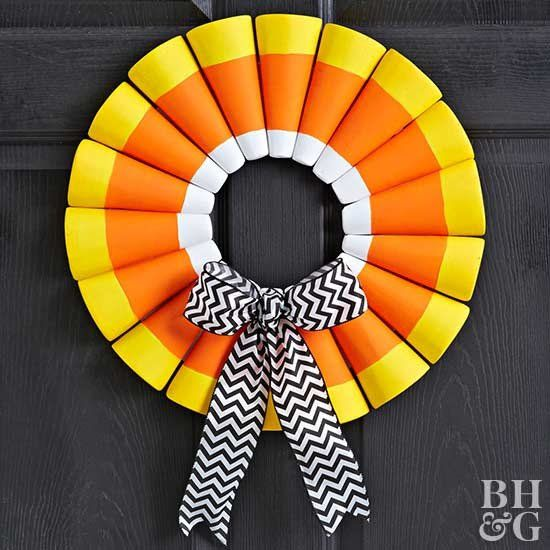 These Halloween door decorations will welcome trick-or-treaters and party guests this October. Our ideas for Halloween wreaths, door decorations, and entryway accents are sure to give your porch spook-tastic flair for the holiday.