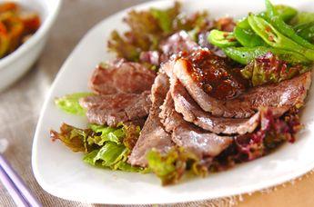 焼き肉サラダ仕立て【E・レシピ】料理のプロが作る簡単レシピ/2006.08.28公開のレシピです。