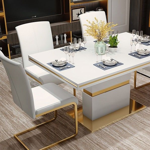 45+ Modern dining table and chairs set Trending