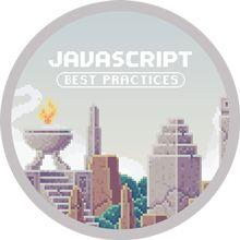 JavaScript Best Practices Completion Badge
