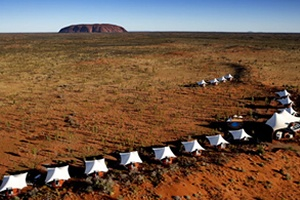 Longitude 131, Ayers Rock. Lodge & Camp de lujo en Australia