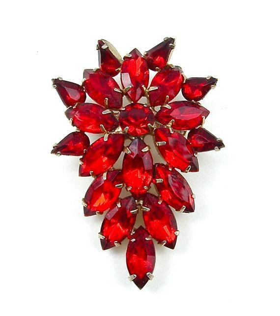 Get party-ready with this bright brooch.