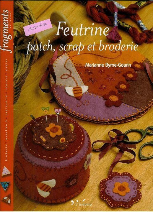 Fabric, Felt and Sewing - Several patchwork and applique projects.