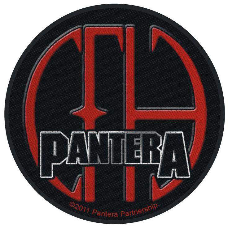 """Toppa in tessuto da cucire """"CFH"""" dei #Pantera. Diametro: 9 cm circa. Materiale: 100% poliestere."""