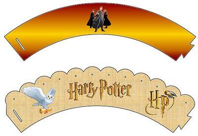 Imprimibles gratis de Harry Potter.