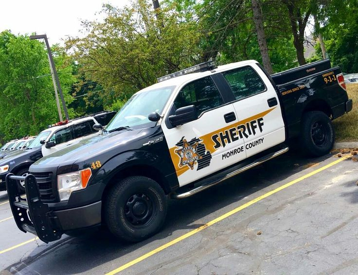 Monroe County Sheriff # 48 Ford F150