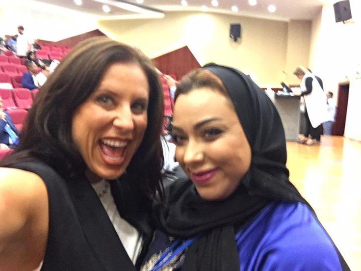 I was filming LIVE from Bahrain on Unstoppable Momma. #BeUnstoppable #mediaandcity #brandit #UnstoppableMomma #Entrepreneur @bonniebruderer @mediaandthecity @rhondarswan @askbonbon