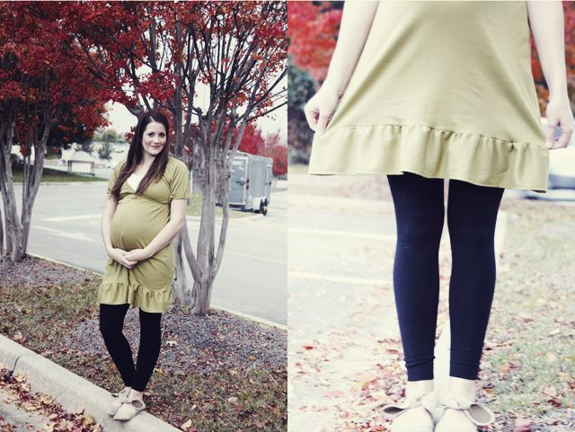 see kate sew: belly + baby// maternity dress + wrap-up