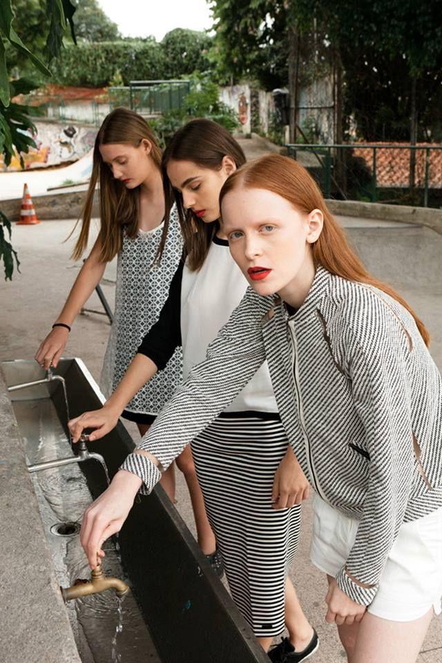 Girls for Bricks Magazine by Takeuchis  - Models:   Jaqueline Datsch/Natália Mallmann/Victória Schons