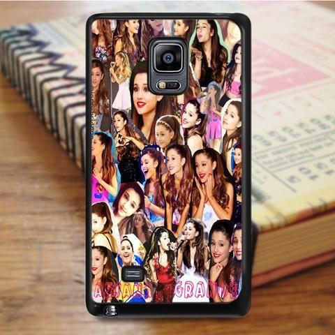 Ariana Grande Singer Collage Samsung Galaxy Note 3 Case