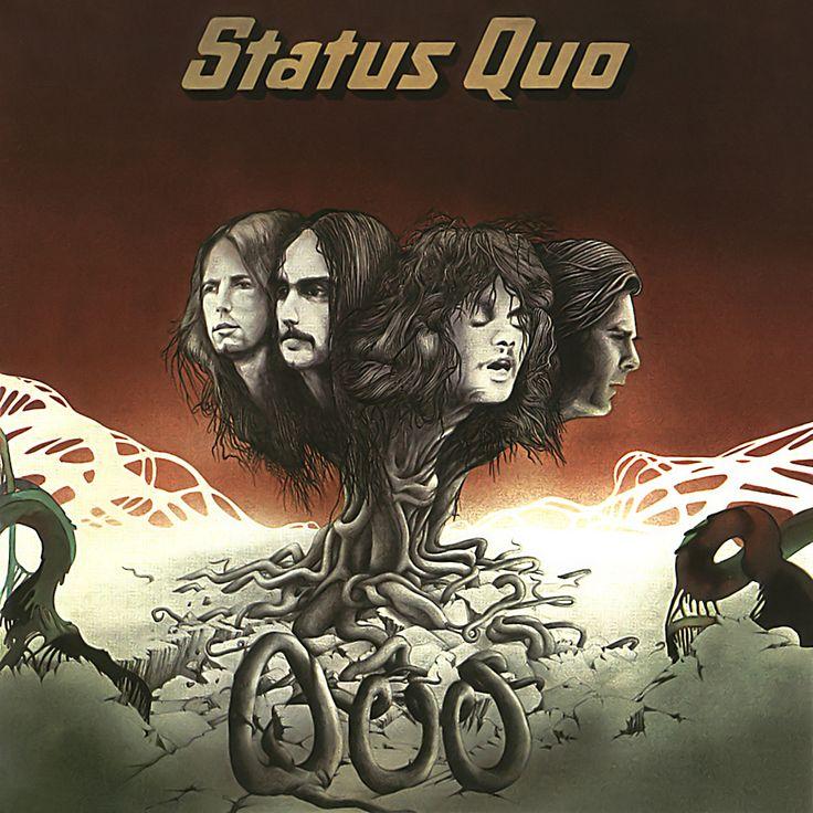 Status Quo - Quo 1974. Wonderful 1970's album cover art.
