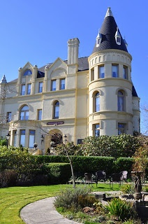 Manresa Castle (haunted) We stayed in the 2nd floor turret suite...Port Townsend, Washington.