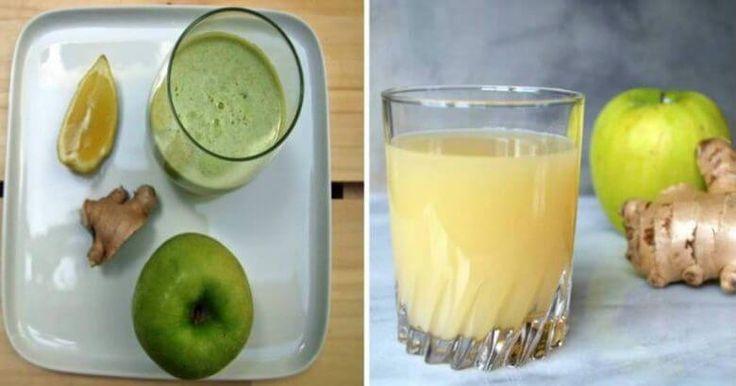Čistič tlustého střeva - Jak jablko, zázvor a citron vyplaví toxiny z vašeho těla