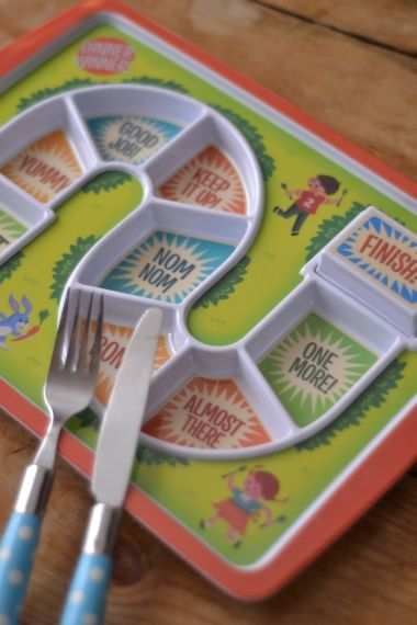 Dinner Winner! A great idea to encourage kids to eat :)