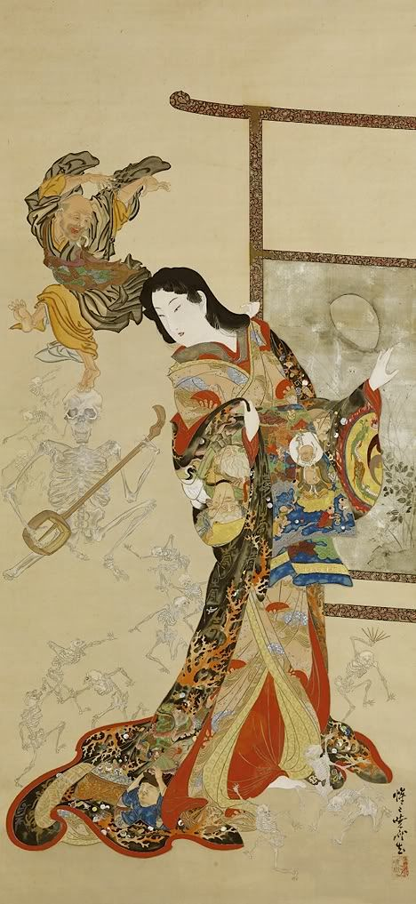 The Hell Courtesan Goes Under the Hammer - Floating Along in the World of Japanese Prints