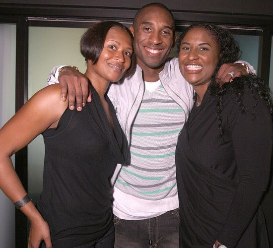 Kobe Bryant & Sharia and Shayla