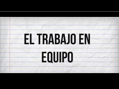 El Trabajo en equipo (Video motivacional) - YouTube