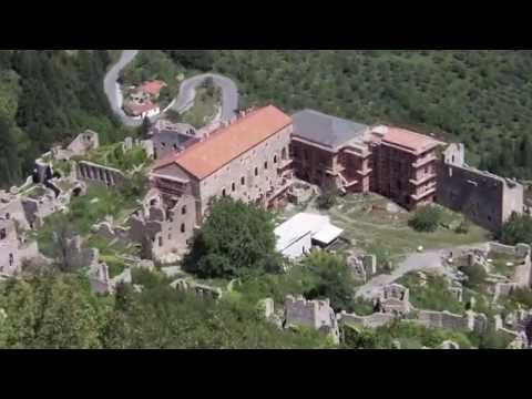 Mystras - Greece - UNESCO World Heritage Site.