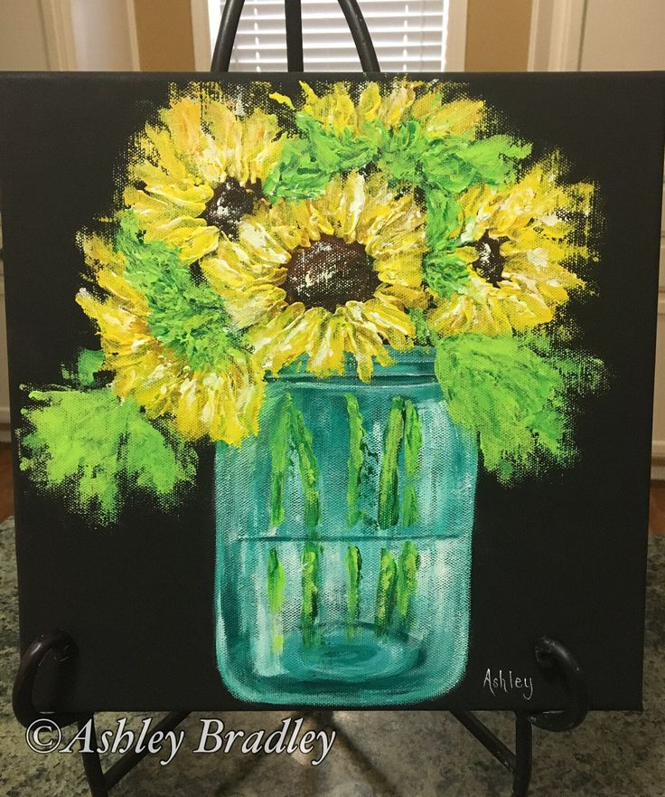 Best 25 sunflower paintings ideas on pinterest for Painting with a twist greenville sc