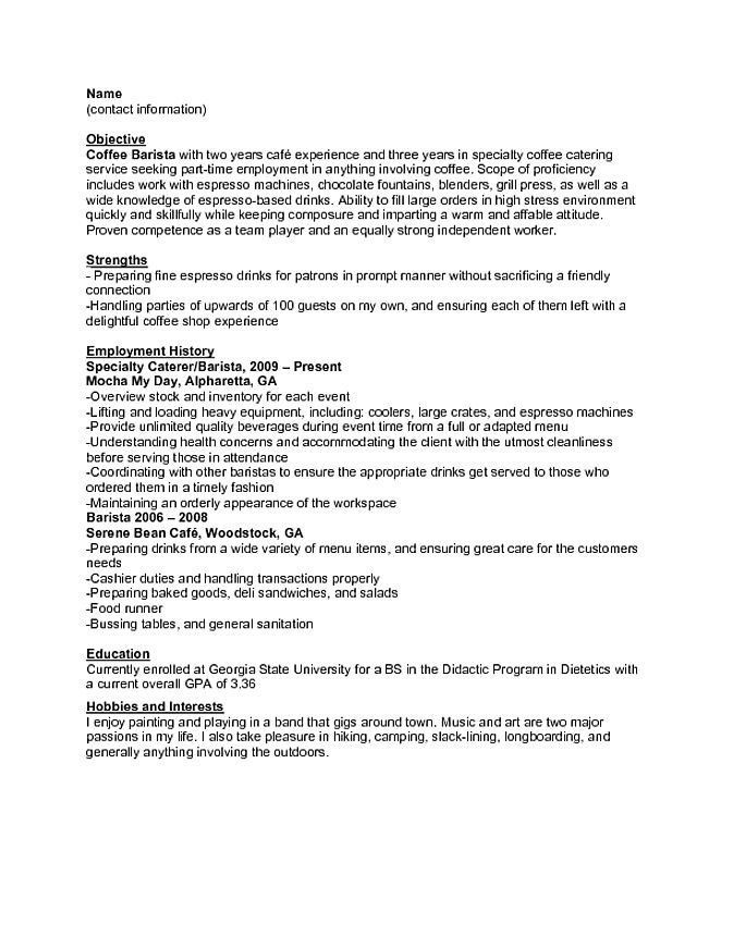 Great Cv Template No Experience Ideas Inexperienced Resume