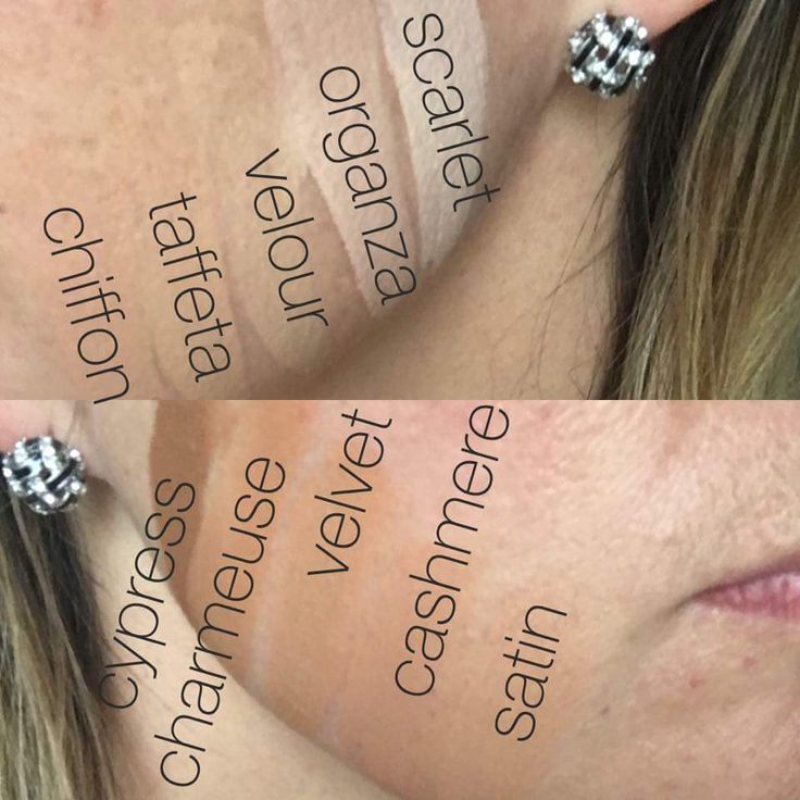 Younique Touch Pressed Powder Foundation Colors On Skin