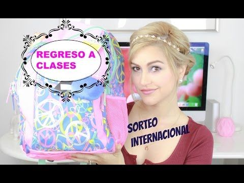 REGRESO A CLASES | SORTEO INTERNACIONAL | The Amelias - YouTube