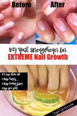 DIY Nail Strengther Für schwache, spröde Nägel – Nails