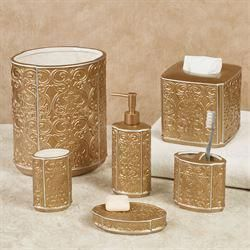 Destiny Gold Ceramic Bath Accessories – Bathroom colors