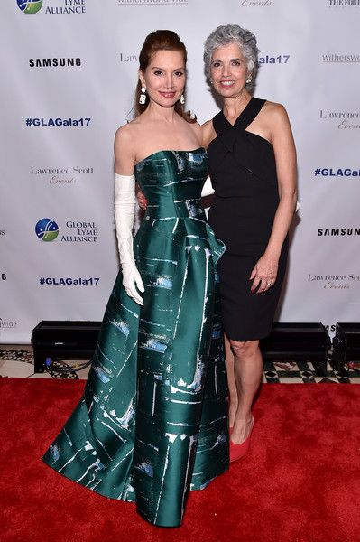 Jean Shafiroff and Diane Blanchard attend the Global Lyme Alliance third annual New York City Gala on October 11, 2017 in New York City.
