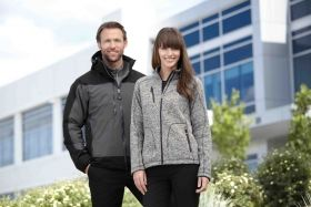 Promotional Products Ideas That Work: NEW PEAK LADIES' SWEATER FLEECE JACKET. Get yours at www.luscangroup.com