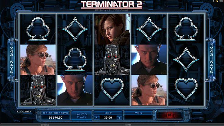 """Hola a todos! Bienvenidos a este juego de tragamonedas en línea gratis """"Terminator 2"""""""
