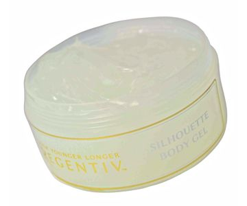 """Silhouette Body Gel -Helps firm, tighten, """"lift"""" and define slackened skin. especially around the abdomen, waist, thighs, hips and upper arms. The lustrous, glossy texture of this zesty gel has  a superb combination of ~Lemon peel oil - invigorating, skin toning. Carrot Oil - rich in Vit A,B,C,D,E to promote skin regeneration & anti ageing. Ivy Extract - skin conditioning. Geranium - encourages new cell growth. • Rosemary - improves circulation. Juniper Oil - diuretic, stimulating."""