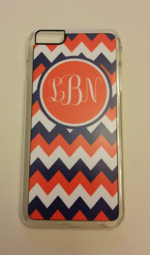 IPhone 6  Phone Case Chevron with Monogram Phone by SDdoodles