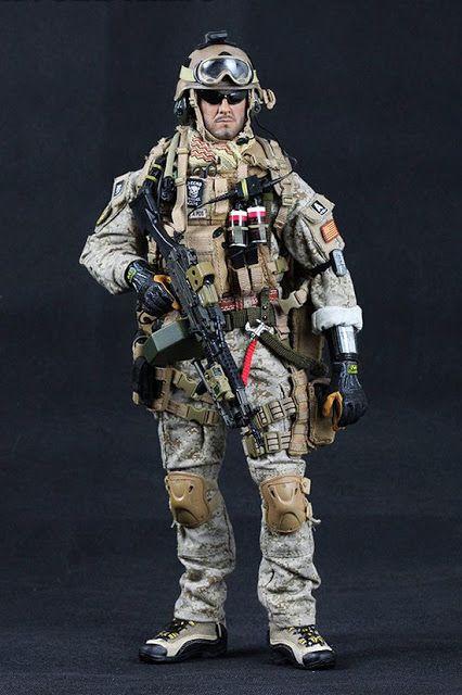 toyhaven: Crazy Dummy US Navy SEAL Team 3 MK46 MOD1 Gunner Preview