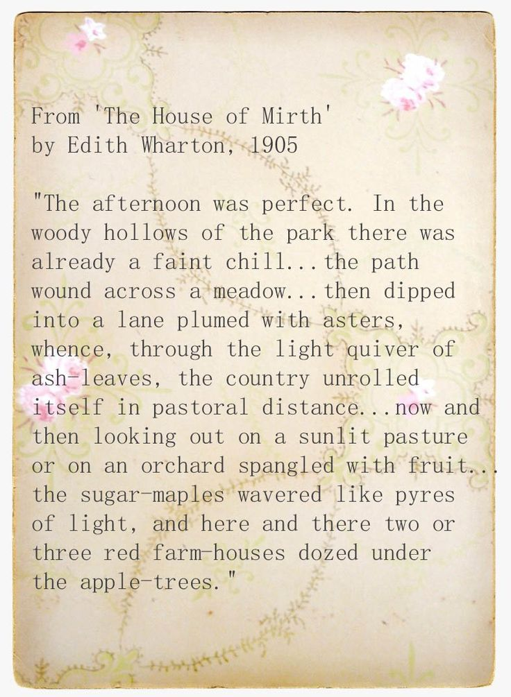 house of mirth essay Edith wharton's the house of mirth : a selected bibliography.