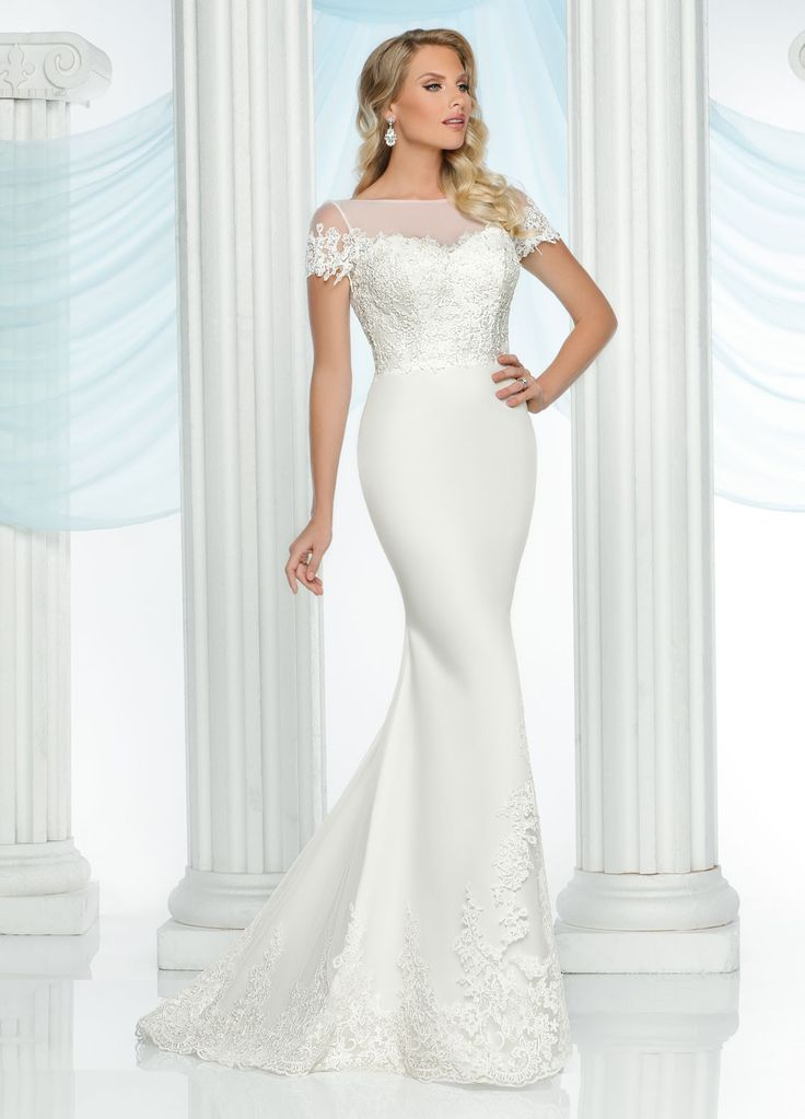 Wedding Dresses, Bridesmaid Dresses, Prom Dresses and Bridal Dresses Davinci Wedding Dresses - Style 50421 [50421] -