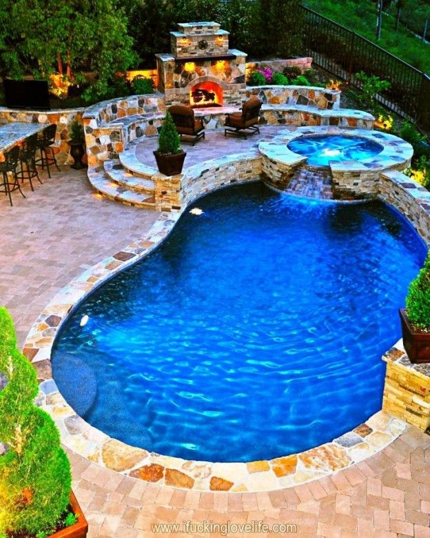 Luxurious Backyard Pool. Luxurious backyard pool!!!